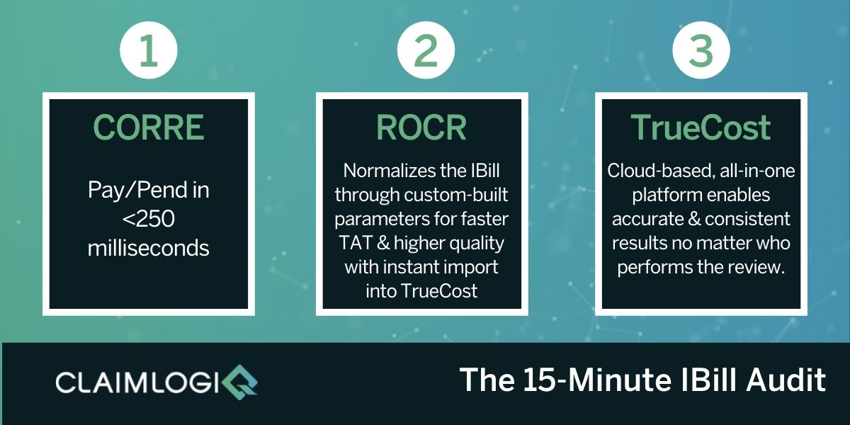 15-Minute IBill Audit Workflow