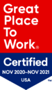 ClaimLogiq Great Place to Work Badge