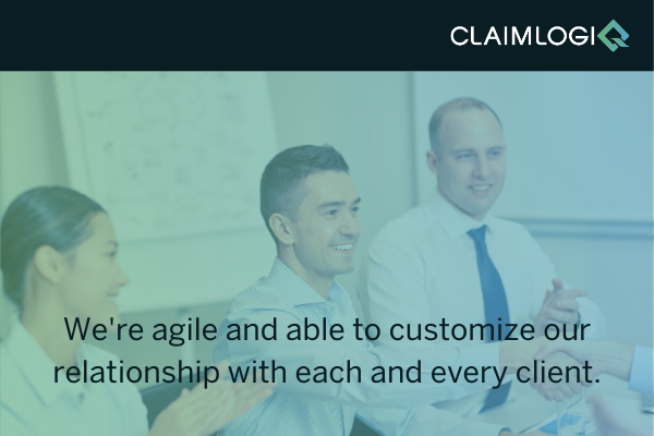 We are agile and able to customize our relationship with each and every client.